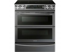 Samsung - NE58K9850WG - Slide-In Electric Ranges