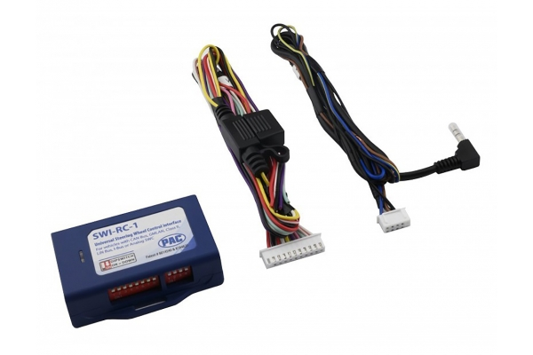 Large image of PAC Audio Universal Analog/CAN-Bus Steering Wheel Control Interface With DIP Switch Programming - SWI-RC-1