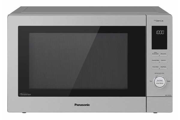 Large image of Panasonic 1.2 Cu. Ft. Stainless Steel HomeChef 4-in-1 Countertop Microwave Multi-Oven - NN-CD87KS