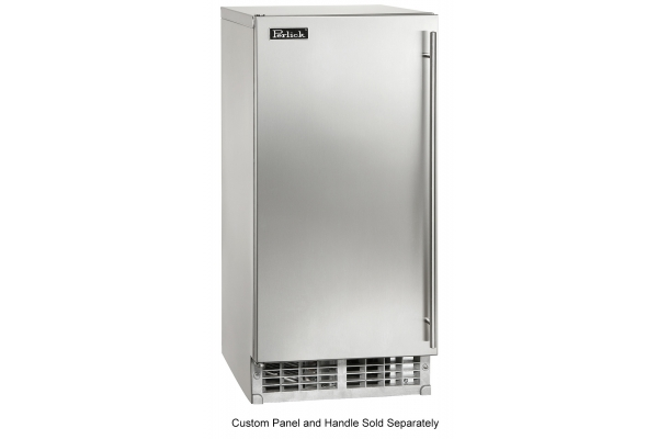 "Large image of Perlick 15"" ADA Compliant Panel Ready Built-In Ice Maker - H50IMW-AD"