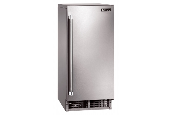 """Large image of Perlick 15"""" Signature Series Stainless Steel Right Hinge Clear Ice Maker - H50IMSR"""