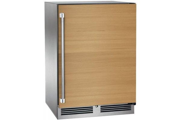 "Large image of Perlick Signature Series 24"" Custom Panel Right-Hinge Indoor Refrigerator - HP24RS-4-2R"