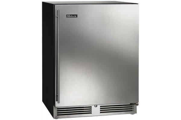 "Large image of Perlick ADA Compliant 24"" Panel Ready Solid Left-Hinge Indoor Refrigerator - HA24RB-4-2L"