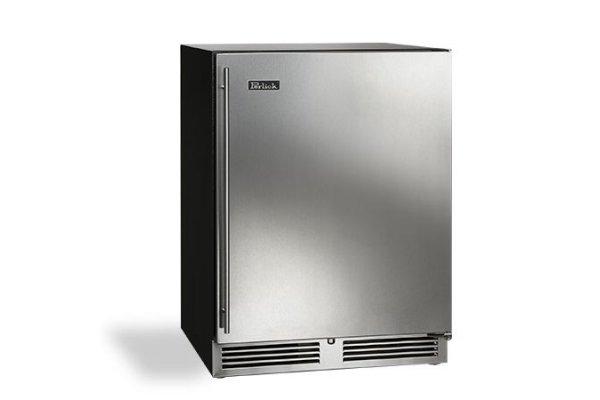 "Large image of Perlick ADA Compliant 24"" Custom Panel Left-Hinge Indoor Refrigerator - HA24RB-4-2L"
