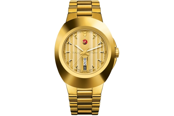 Large image of Rado New Original Gold Dial Stainless Steel Watch, 38.5mm - R12999253