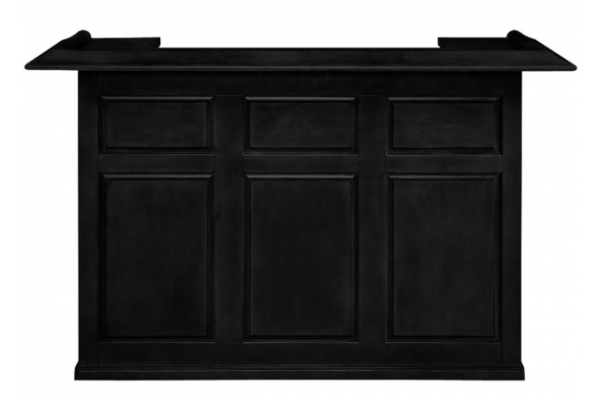 """Large image of RAM Game Room 72"""" Black Dry Bar - DBAR72BLK"""