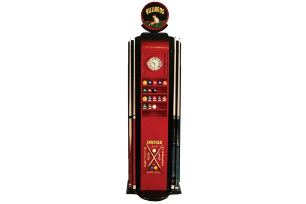Large image of RAM Game Room Gas Pump Ball & Cue Holder - R934