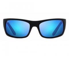 247be26ae5cd Customers also viewed: Maui Jim Peahi Matte Black Blue Hawaii Unisex  Sunglasses - B202-