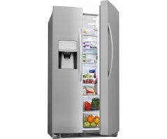 Whirlpool Side-By-Side Refrigerator - 24 6 Cu  Ft