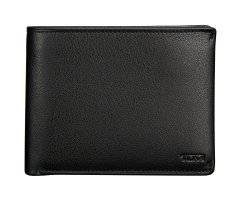 sale retailer ca62c 9f994 Tumi Black Center Flip ID Passcase Wallet - 0118632D-ID
