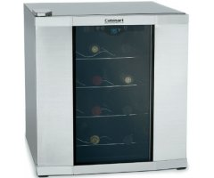 customers ultimately bought: cuisinart 16-bottle stainless wine cellar -  cwc-1600