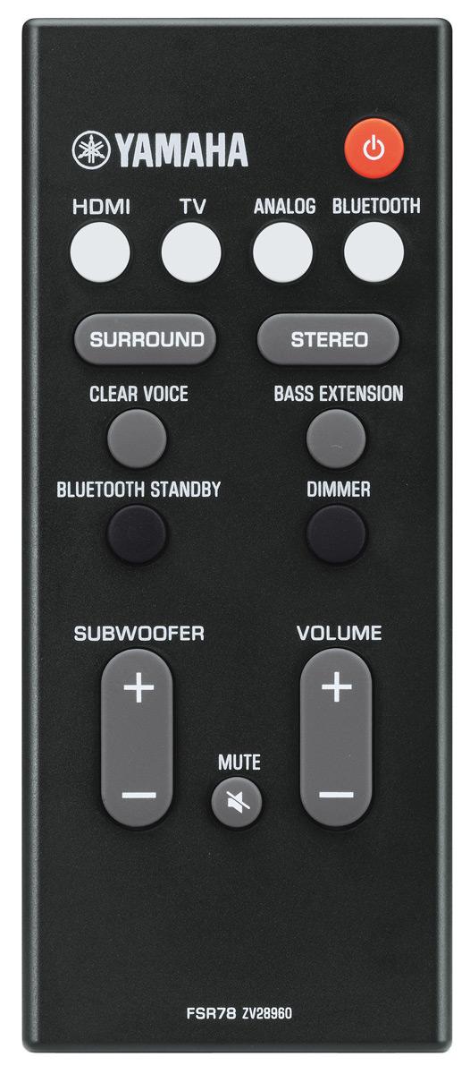 Yamaha Sound Bar With Dts Virtual X Yas 207bl