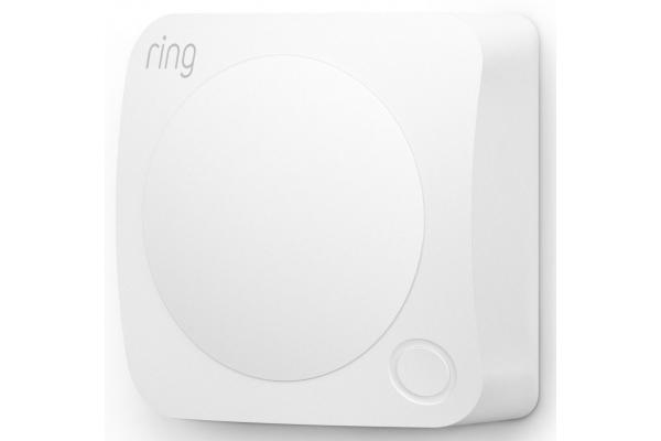 Large image of Ring White Alarm Motion Detector 2nd Generation - B07ZB2QF2V