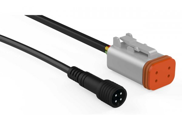 Large image of Rockford Fosgate 25 Ft. Color Optix Extension Cable For PMX-RGB - RGB-25C