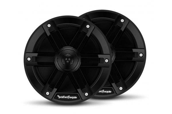 "Large image of Rockford Fosgate M0 6.5"" Black Marine 2-Way Full-Range Speakers (Pair) - M0-65B"
