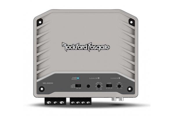 Large image of Rockford Fosgate M2 200W 2-Channel Element Ready Marine Amplifier - M2-200X2