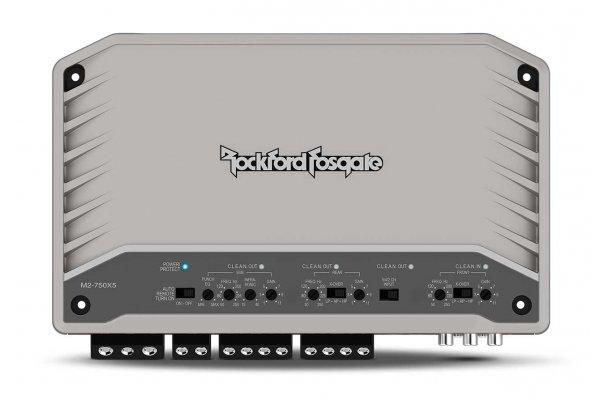 Large image of Rockford Fosgate M2 750W 5-Channel Element Ready Marine Amplifier - M2-750X5