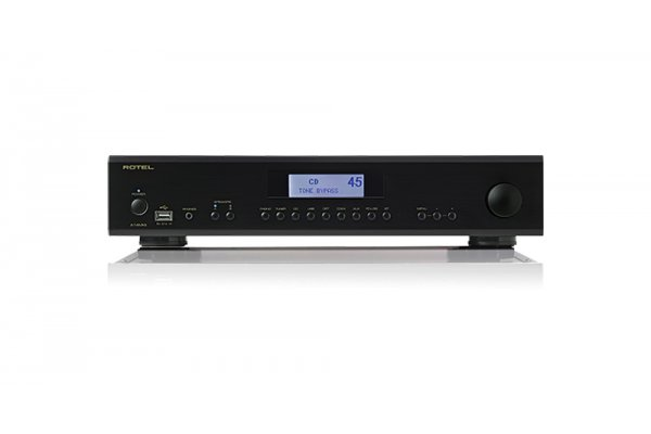 Large image of Rotel A14MKII Black Integrated Amplifier - ROT1015011