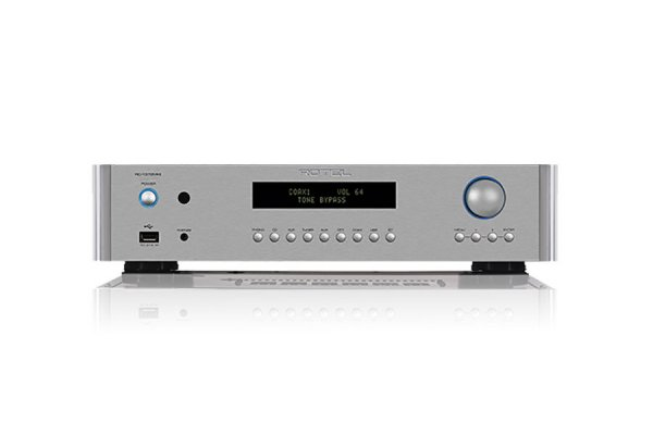 Large image of Rotel RC-1572MKII Silver Stereo Preamplifier - RC1572MKIISIL