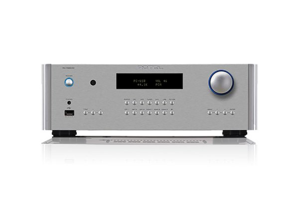 Large image of Rotel RC-1590MKII Silver Stereo Preamplifier - RC1590MKIISIL