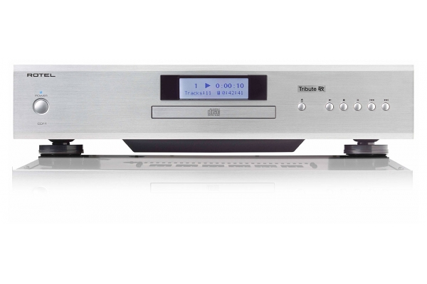 Large image of Rotel CD11 Tribute Silver CD Player - ROT1015010