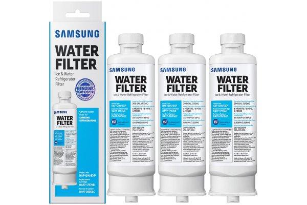 Large image of Samsung 3-Pack Refrigerator Water Filter - HAF-QIN-3P/EXP