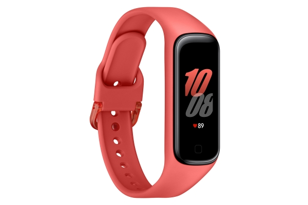 Large image of Samsung Galaxy Fit2 Scarlet Red Fitness Tracker - SM-R220NZRAXAR