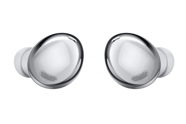Large image of Samsung Galaxy Buds Pro Phantom Silver True Wireless Earbuds - SM-R190NZSAXAR