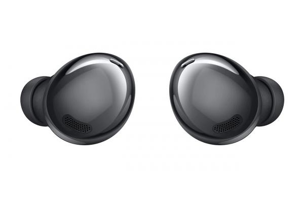 Large image of Samsung Galaxy Buds Pro Phantom Black True Wireless Earbuds - SM-R190NZKAXAR