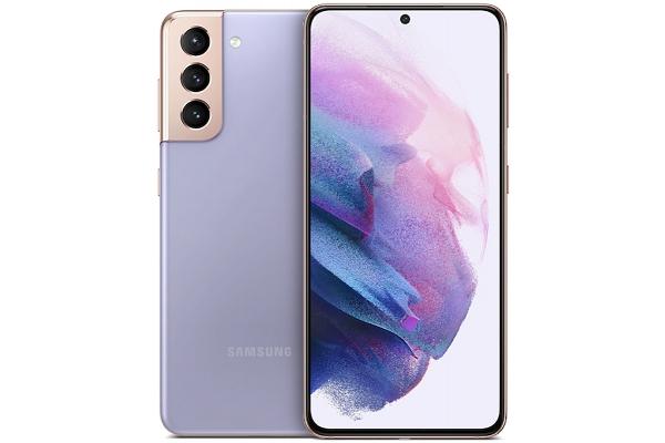 Large image of Samsung Galaxy S21 5G Phantom Violet 128GB Wireless Cellular Phone - SM-G991UZVAATT & 6920C