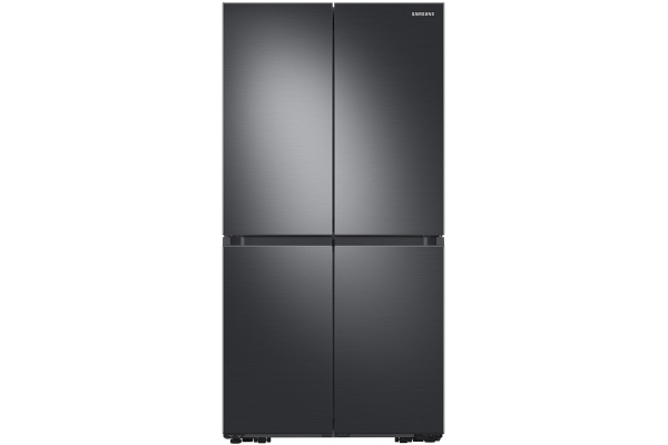 Large image of Samsung 23 Cu. Ft. Fingerprint Resistant Black Stainless Steel Smart Counter Depth 4-Door Flex Refrigerator With AutoFill Water Pitcher And Dual Ice Maker - RF23A9071SG/AA
