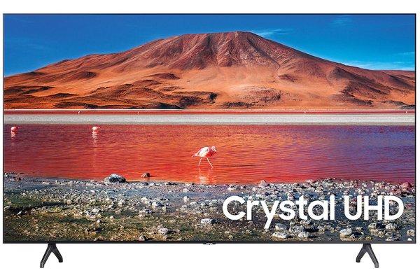 "Large image of Samsung 82"" TU7000 Titan Gray Crystal UHD 4K Smart HDTV - UN82TU7000FXZA"