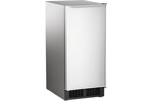 """Large image of Scotsman 15"""" Legacy Stainless Steel Under-Counter Gourmet Ice Machine - DCE33A1SSD"""