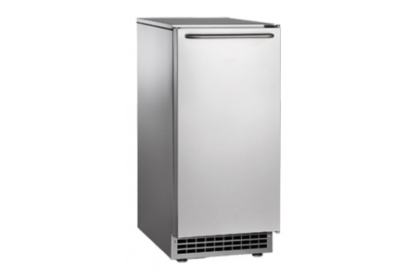 """Large image of Scotsman 15"""" Stainless Steel Undercounter Commercial Cube Ice Machine - CU50GA1A"""