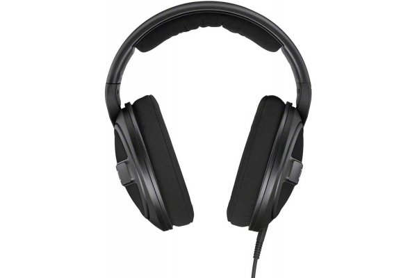 Large image of Sennheiser HDR 569 Black Around-Ear Wired Headphones - 506829