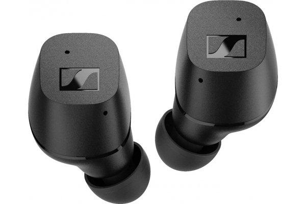 Large image of Sennheiser CX Black True Wireless In-Ear Headphones - 508973