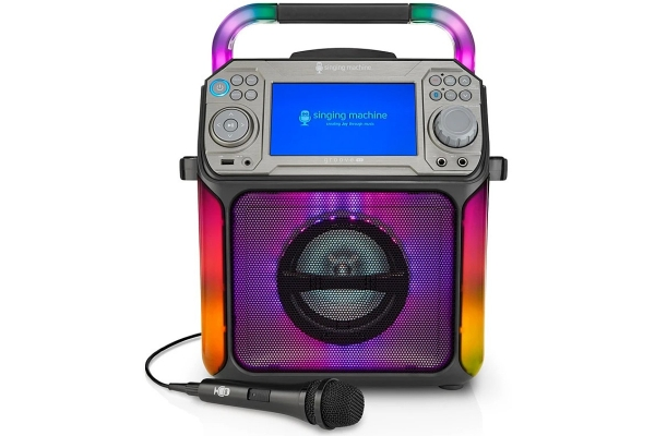 Large image of Singing Machine Groove XL Entertainment System With Bluetooth - STVG784B