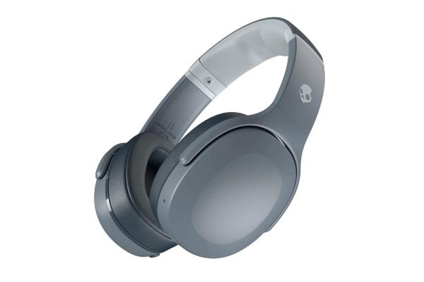 Large image of Skullcandy Crusher Evo Chill Grey Wireless Over-Ear Headphones - S6EVW-N744
