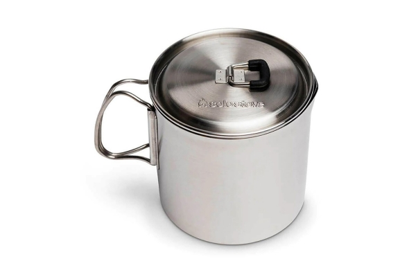 Large image of Solo Stove Lite Stainless Steel Pot 900 - POT1