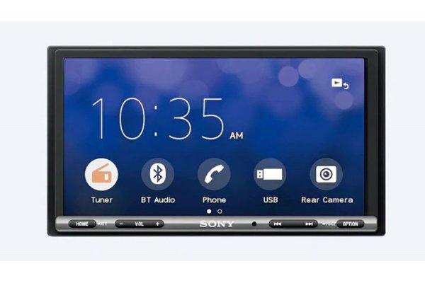 """Large image of Sony 6.95"""" Apple CarPlay/Android Auto Media Receiver - XAV-AX150"""