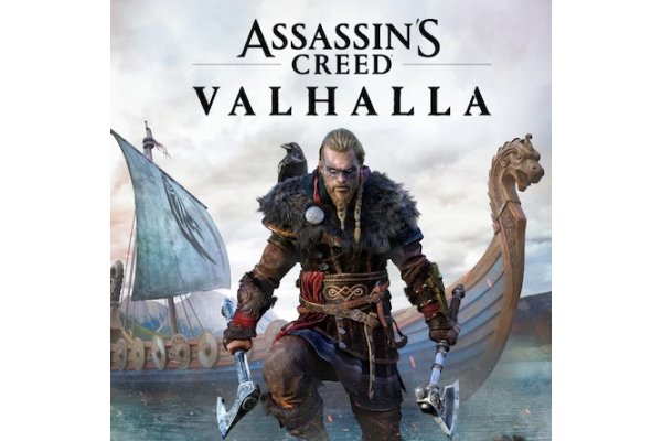 Large image of Sony PlayStation 5 PS5 Assassin's Creed Valhalla Video Game - 887256090753
