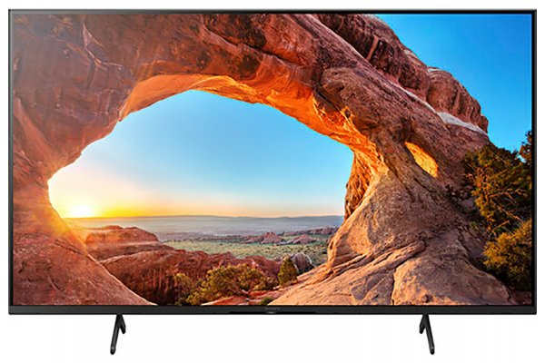 "Large image of Sony 43"" X85J Black HDR 4K UHD Smart TV - KD43X85J"