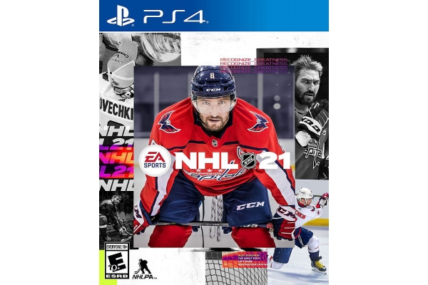 Large image of Sony PlayStation 4 NHL 21 Video Game - 014633374643