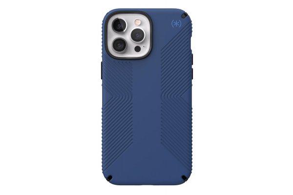 Large image of Speck Presidio2 Grip Coastal Blue Apple iPhone 13 Pro Max Case - 141735-9128