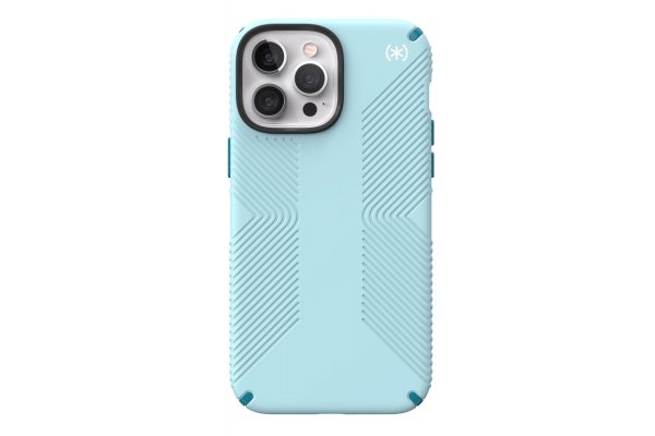 Large image of Speck Presidio2 Grip Fountain Teal Apple iPhone 13 Pro Max Case - 141735-9602