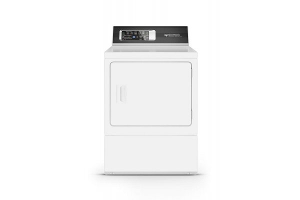 Large image of Speed Queen 7 Cu. Ft. White Gas Dryer - ADGE9RYS117TW01