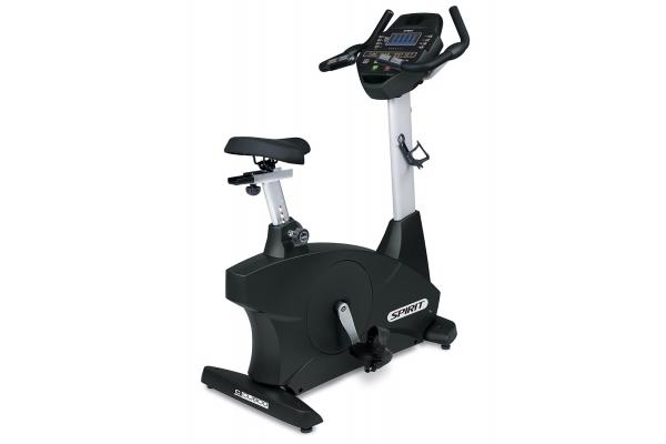 Large image of Spirit Fitness CU800 Commercial Upright Exercise Bike - 800340