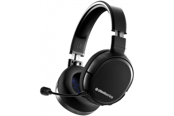 Large image of SteelSeries Arctis 1 Black Wireless Gaming Headset For PS5 - 61519
