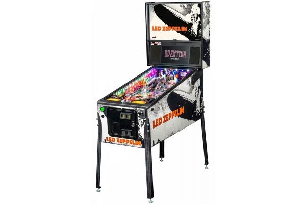 Large image of Stern Pinball Led Zeppelin Premium Edition Pinball Machine - LEDZEPPELINPREMIUM