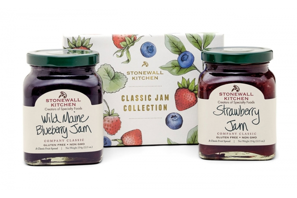 Large image of Stonewall Kitchen Classic Jam Collection - 191286